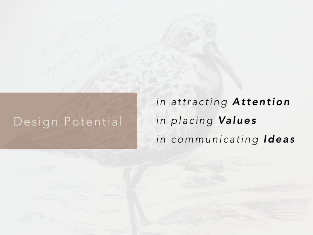Attributes in Design Potential