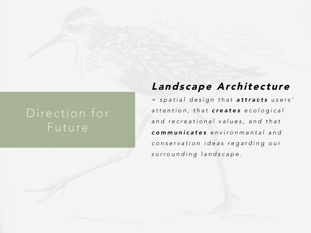 Landscape Architecture as another design medium